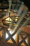 lampa kuta z witrażem